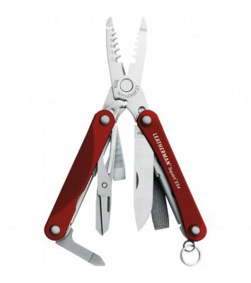 Мультитул LEATHERMAN SQUIRT ES4 RED 831237 в подарочной упаковке