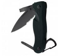 Нож LEATHERMAN CRATER MILITARY C33TX BLACK 8602251N